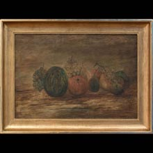 Still Life with a Watermelon and Grapes